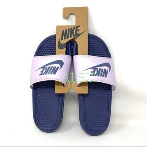 Nike Benassi Slides Women's Sandals Light Pink